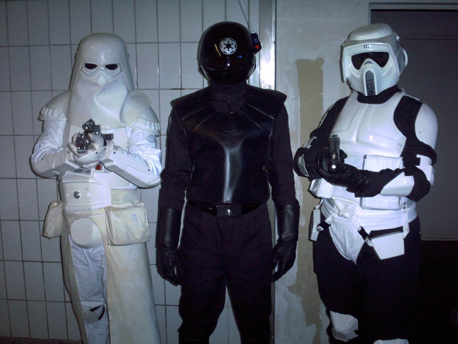 Imperial Gunner Costume